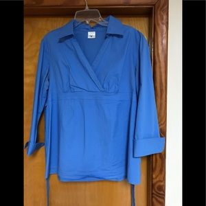 Maternity cotton 3/4 sleeves top